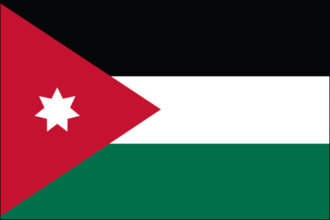 Jordanian Flag - Pinnacle Flags