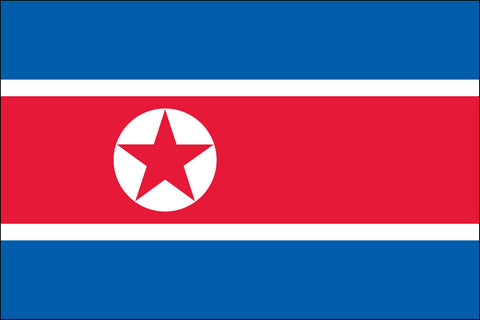 North Korean Flag - Pinnacle Flags