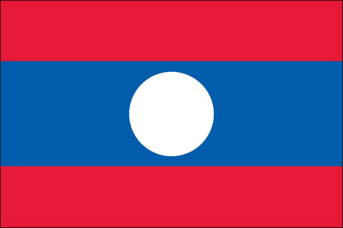 Lao and Laotian Flag - Pinnacle Flags