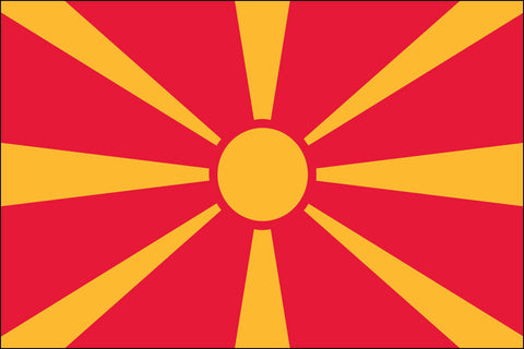 Macedonia Flag - Pinnacle Flags