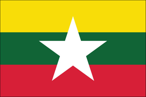 Burmese Flag - Pinnacle Flags