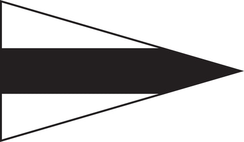 3nd Repeater Signal Pennant