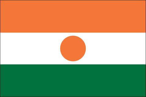 Nigerien Flag - Pinnacle Flags