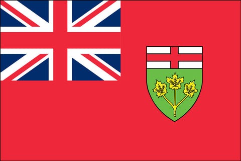 Ontario Flag - Pinnacle Flags