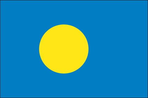 Palauan Flag - Pinnacle Flags