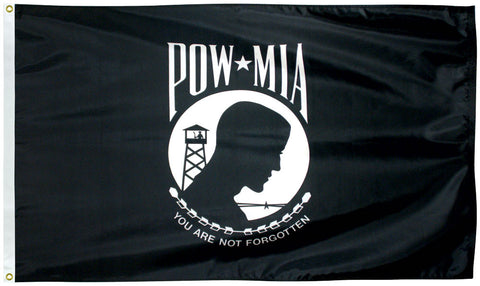 POW-MIA Two Sided Flag - Service Flags
