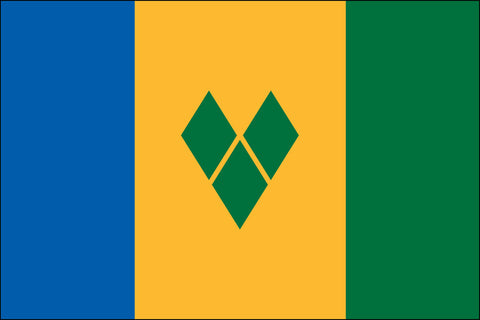St Vincent And The Grenadines Flag - Pinnacle Flags