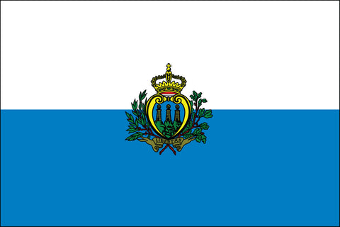 San Marino Flag - Pinnacle Flags