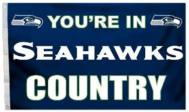 Seahawks Country Flag