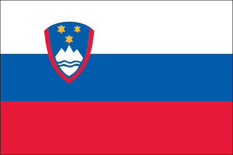 Slovenian and Slovene Flag - Pinnacle Flags
