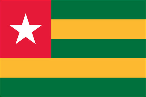 Togolese Flag - Pinnacle Flags