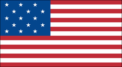 The 15 Star American Flag - Historical Flags