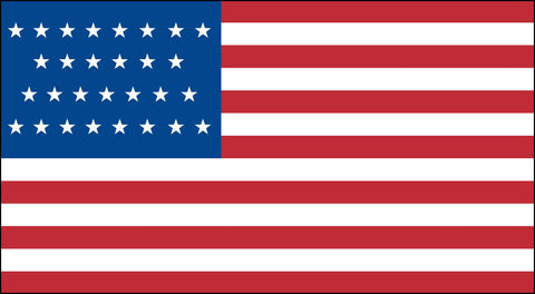 The 29 Star American Flag - Historical Flags
