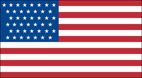 The 43 Star American Flag - Historical Flags
