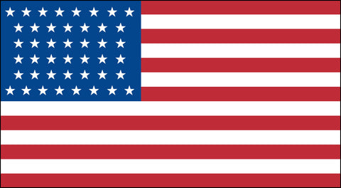 The 44 Star American Flag - Historical Flags