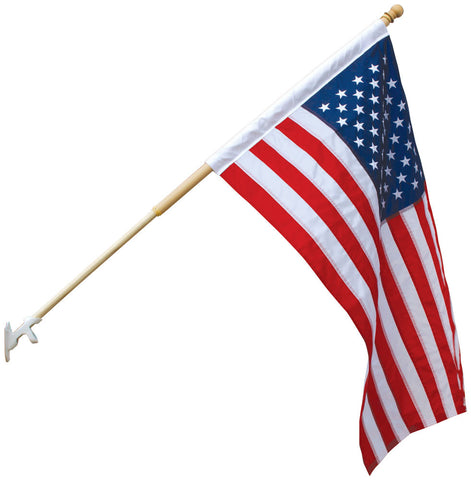 American Flag, Outdoor, Nylon, Sleeved - Pinnacle Flags - 1