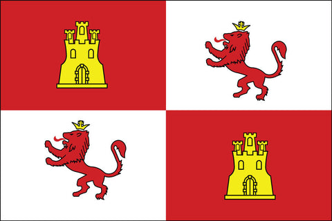 Royal Standard Of Spain Flag - Historical Flags