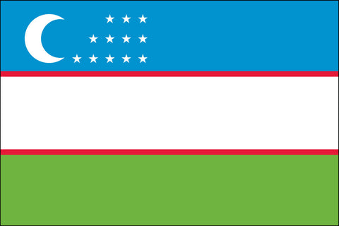 Uzbekistani and Uzbek Flag - Pinnacle Flags