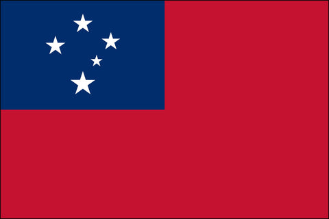 Western Samoa Flag - Pinnacle Flags