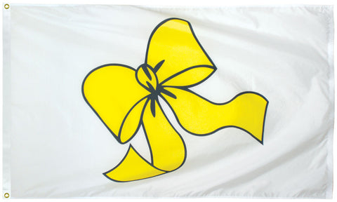 Yellow Ribbon Flag - Service Flags