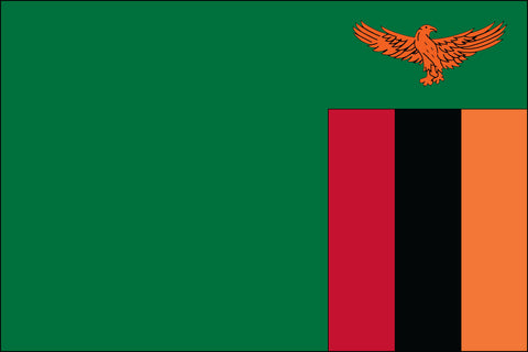 Zambian Flag - Pinnacle Flags
