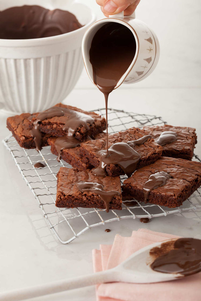 Print of Brownies with Chocolate | Fresh Food Prints