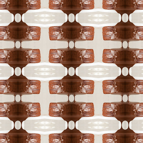 Print of chocolate kaleidoscope | Fresh Food Prints