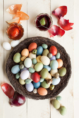 Print of colored Easter eggs | Fresh Food Prints