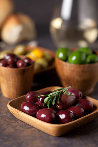 Print of assorted olives | Fresh Food Prints