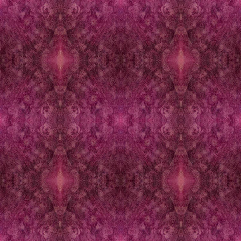 Print of purple potato kaleidoscope of food | Fresh Food Prints