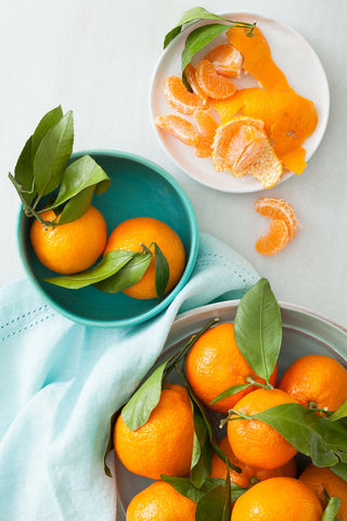 Print of Tangerines | Fresh Food Prints