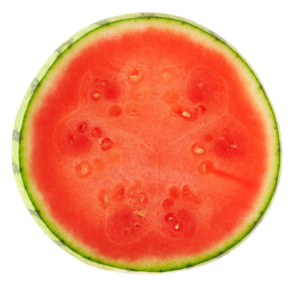 Print of watermelon slice on white background | Fresh Food Prints