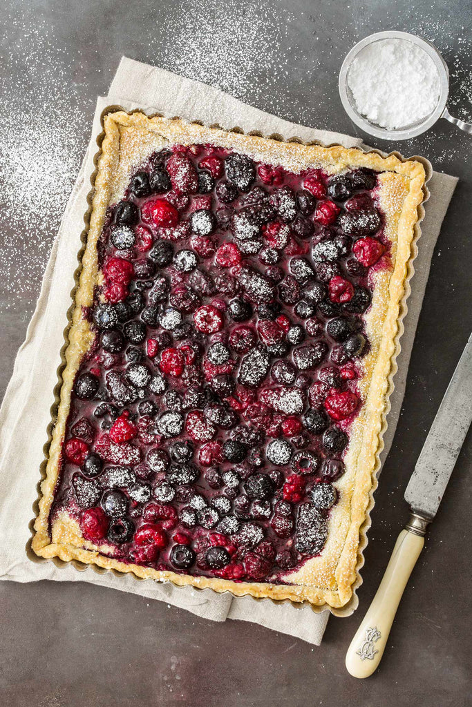 Print of Whole Berry Tart | Fresh Food Prints