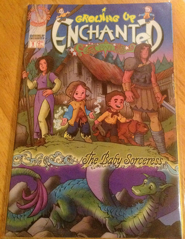 Growing Up Enchanted - Book 1 - Original 4-issue Bundle - Signed