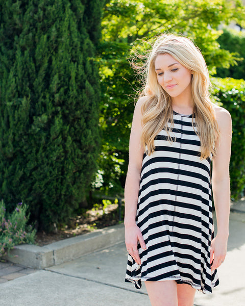 Phoenix Striped Dress