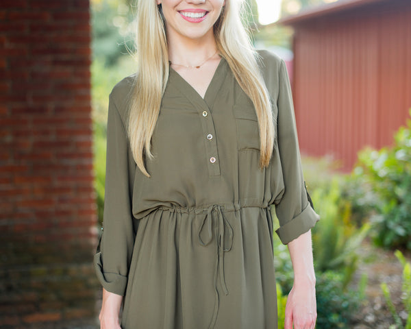 Chloe Shirt Dress