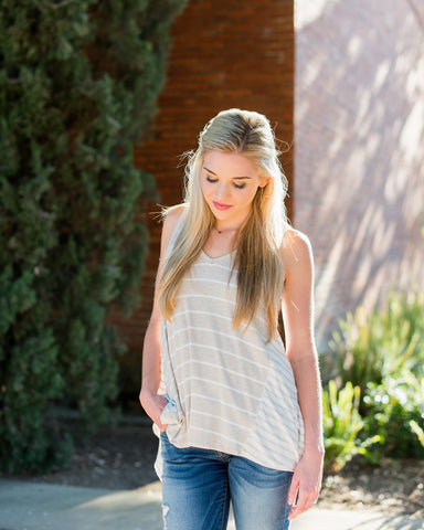 Josie Striped Tank