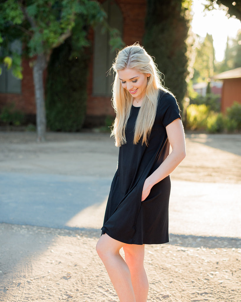 Madison Black Dress