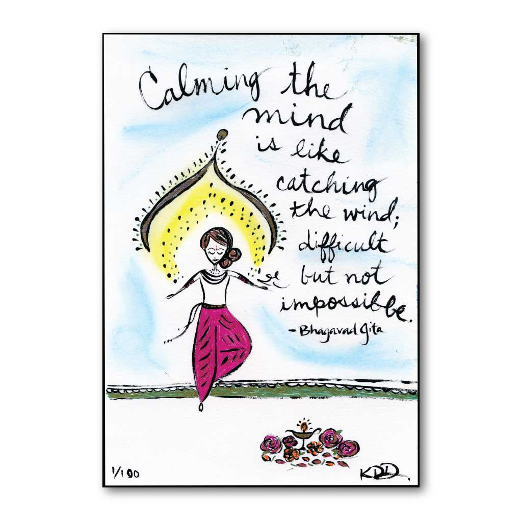 Calming the Mind Art Print
