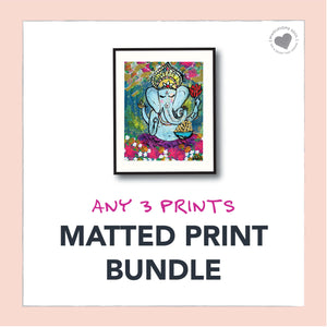 Matted Print Bundle