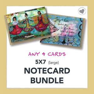 5x7 Notecard Bundle