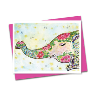 5.5x4.5 Ellie XO Notecard