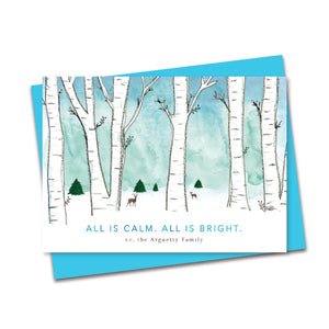 Personalized - Winter Wonderland Holiday Greetings