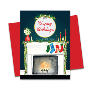 Personalized- Happy Holidays Home Greetings
