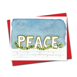 Peace - Winter Greetings Set of 8