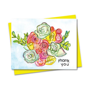 5.5x4.25 Thank You Notecard