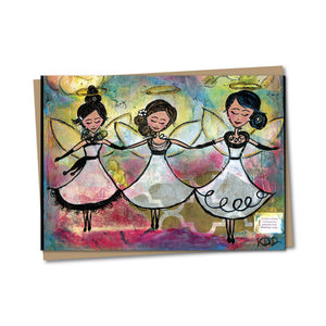 5x7 Angel Love Notecard