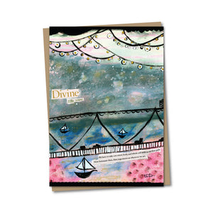 5x7 Divine Life Travel Notecard