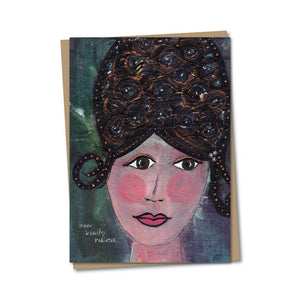 5x7 Inner Beauty Radiates Notecard