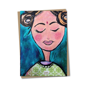 5x7 Joy Notecard